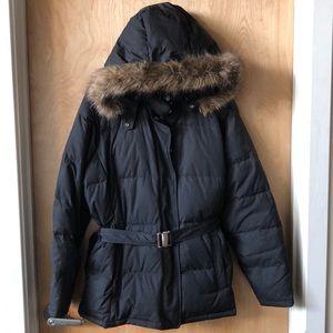 Gap Black winter coat